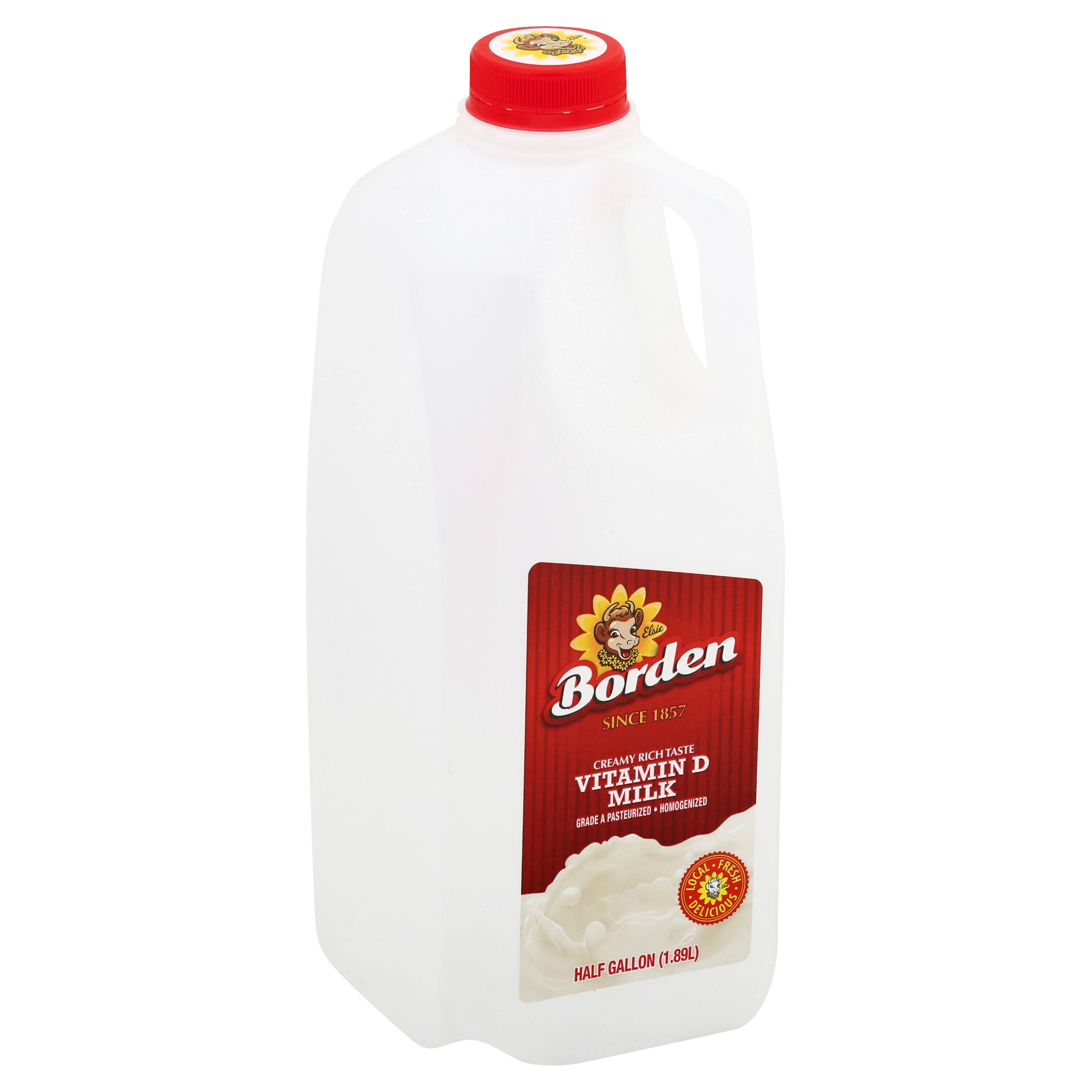 Borden Vitamin D Milk - 0.5gal