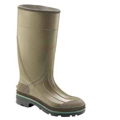 Norcross Safety Rubber Hi Boots - Olive, 10US