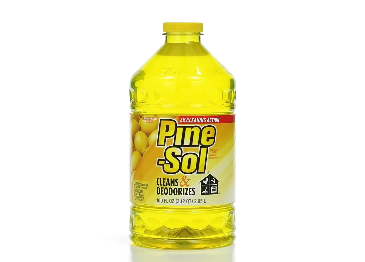 Pine Sol Multi Surface Cleaner and Deodorizer - Lemon Fresh, 100oz