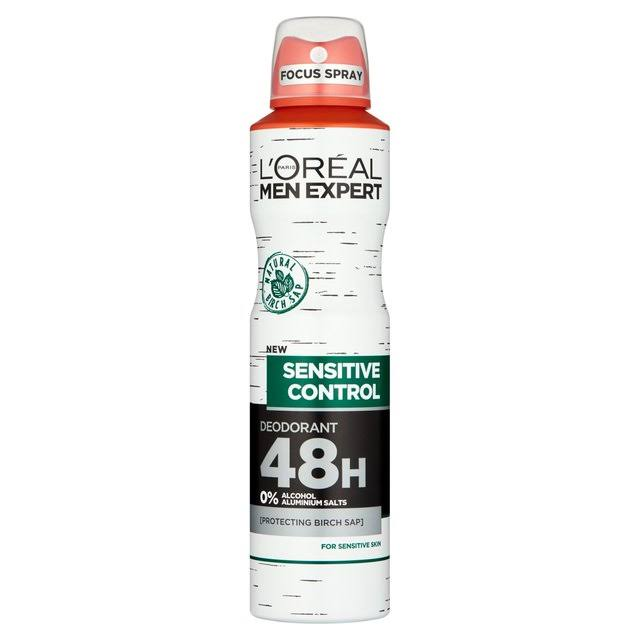 L'Oreal Men Expert Sensitive Control Deodorant - 250ml