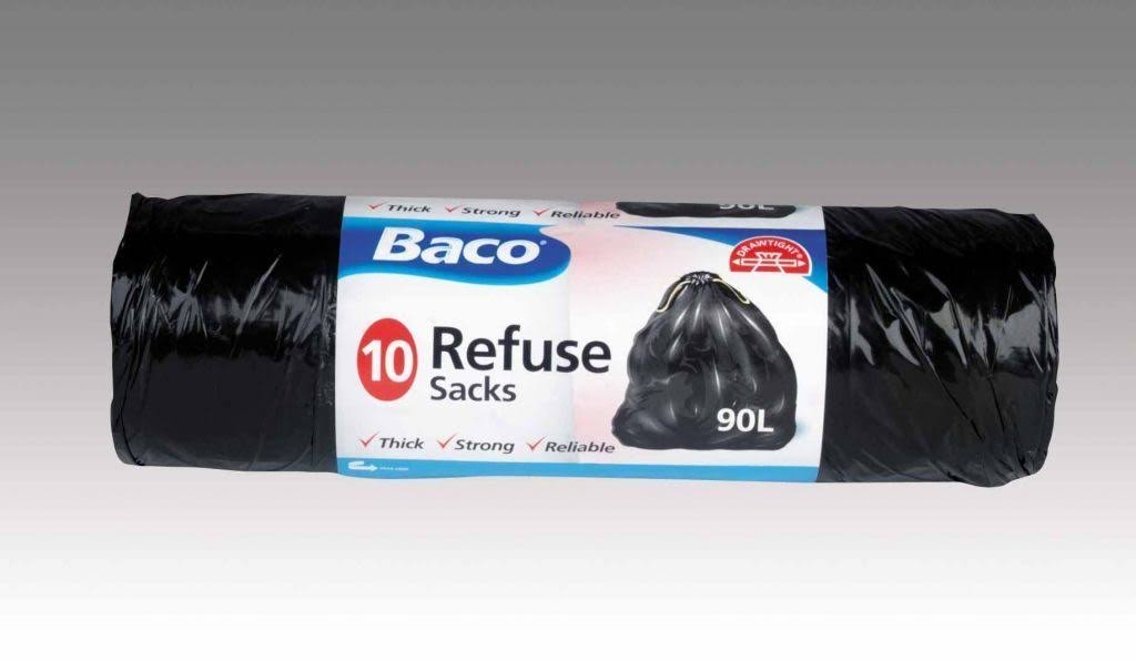 Baco Refuse Sacks - 10 x 90L Pack