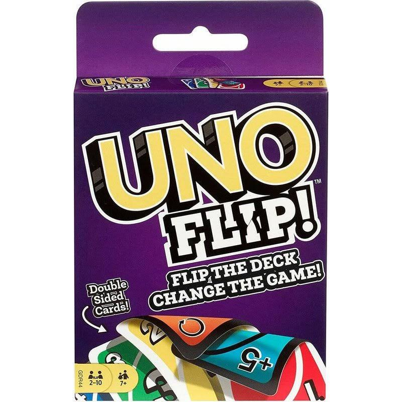 Mattel Uno Flip Card Game