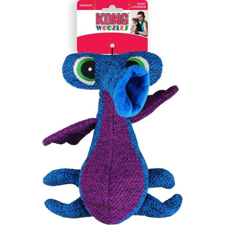 Kong Company rwz21 woozles, Blue, Medium