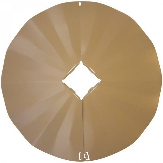 Erva Sb7 Disk Squirrel Baffle and Guard - Tan, 22.5""