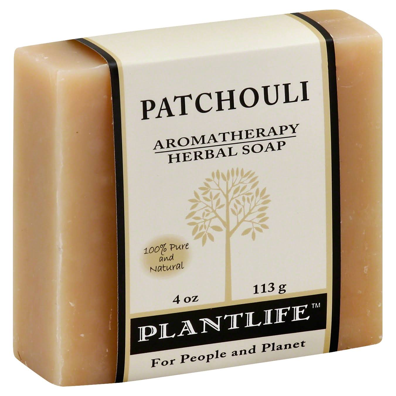 Patchouli Aromatherapy Herbal Soap - 120ml