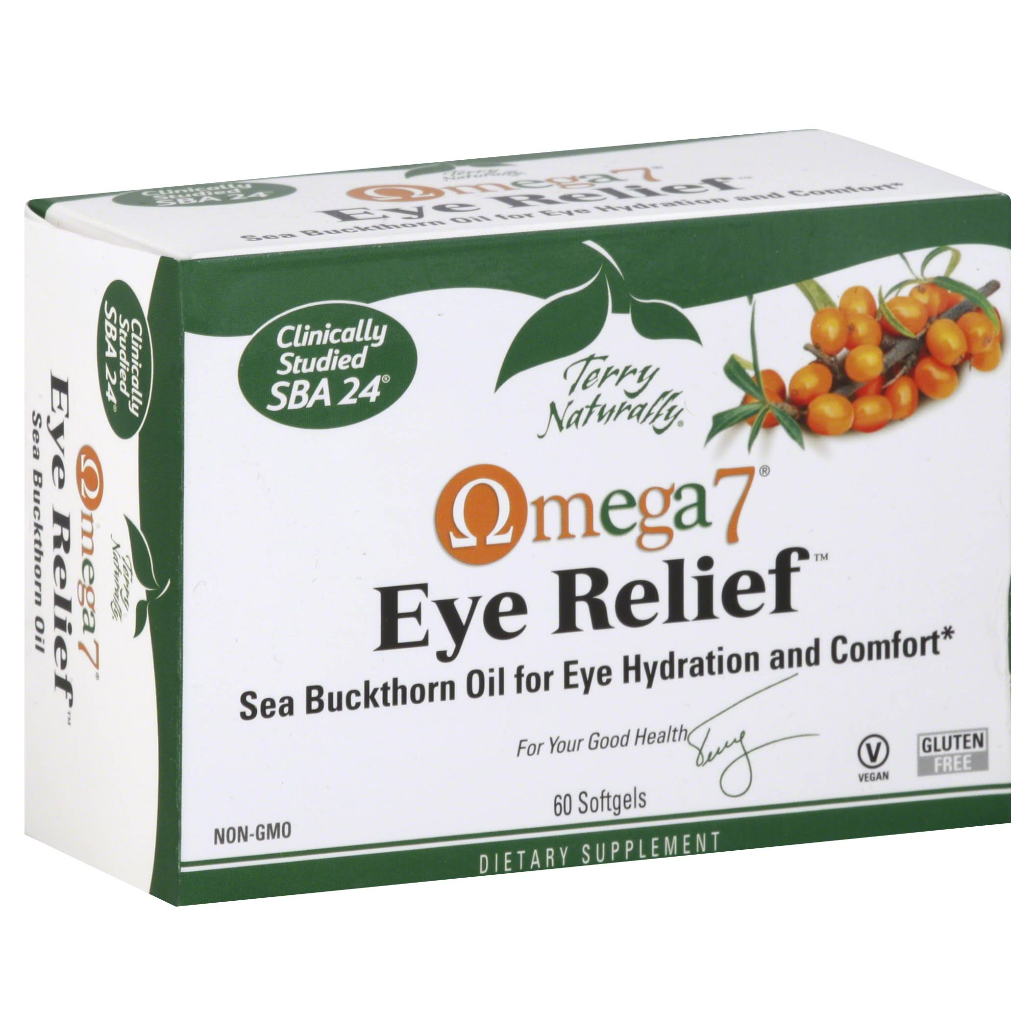 Terry Naturally Omega7 Eye Relief - 60 Softgels
