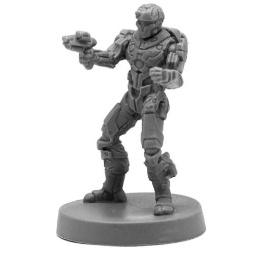 Reaper Miniatures Bones Black: Blood Nebula Mercenary