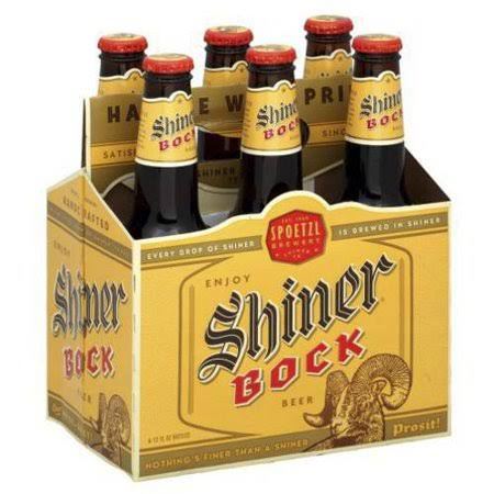 Shiner Bock Beer - x12