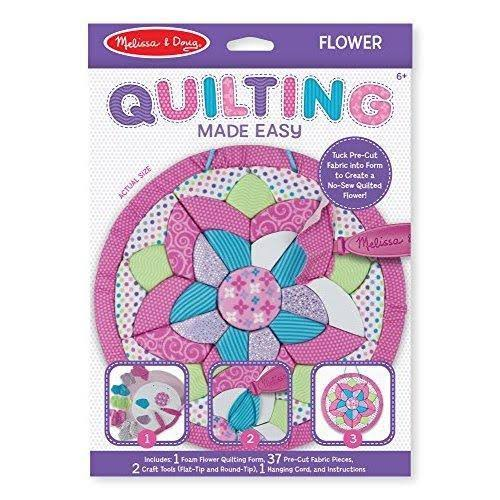 Melissa & Doug - Quilting Made Easy - Flower