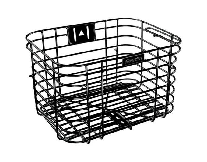 Electra Wired Basket - Black
