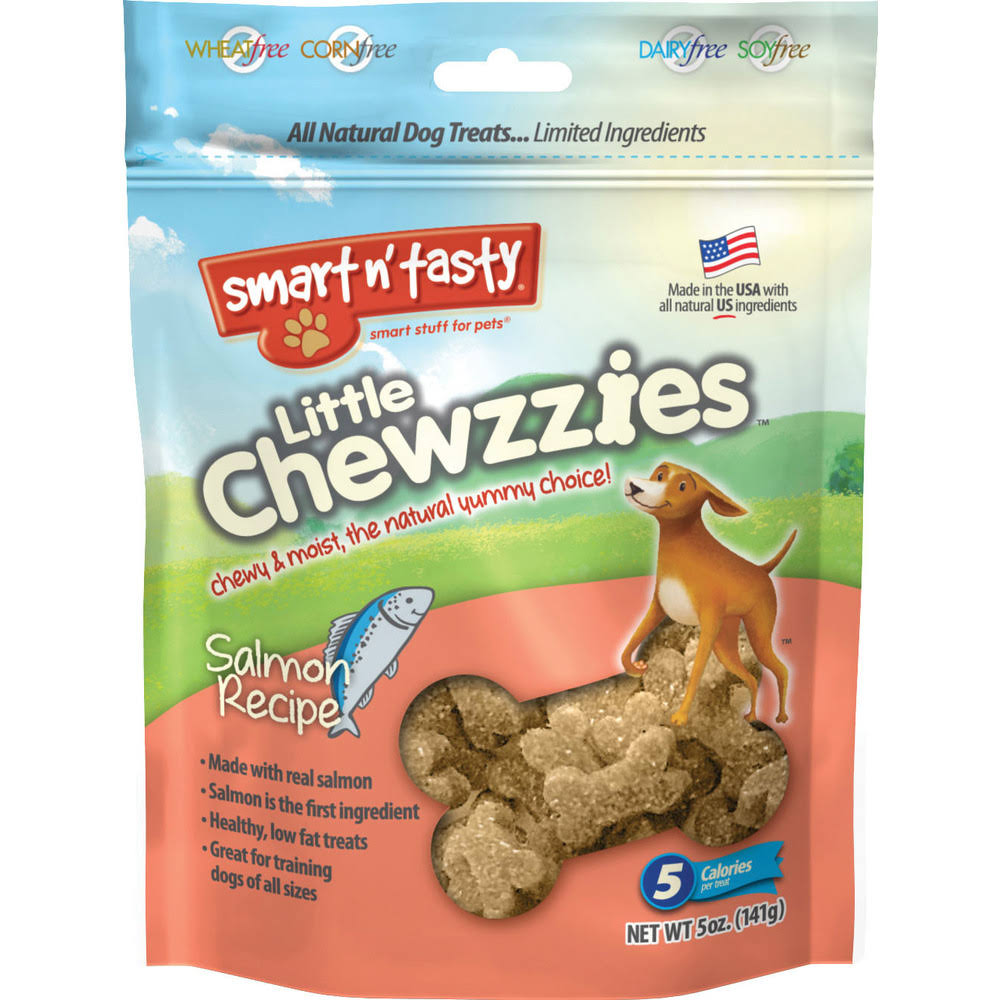 Emerald Pet Little Chewzzies Dog Treats 5 oz Salmon