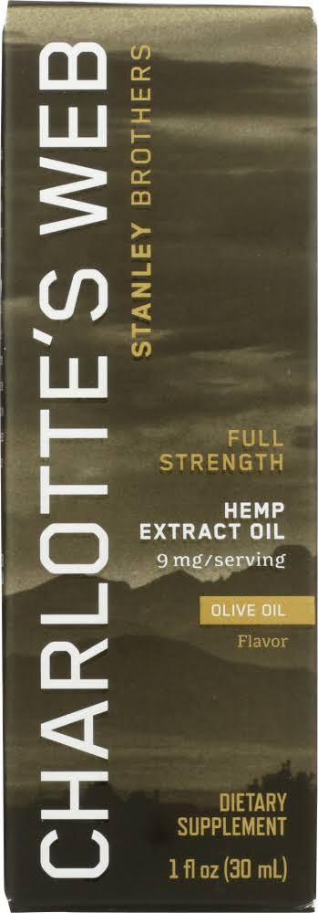 Charlotte's Web Everyday Pure Hemp Extract Oil Olive Oil - 1oz