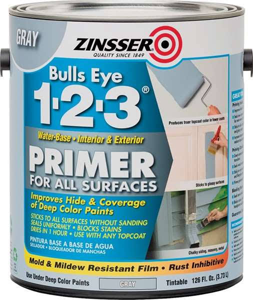 Zinsser Bulls Eye 1-2-3 Primer