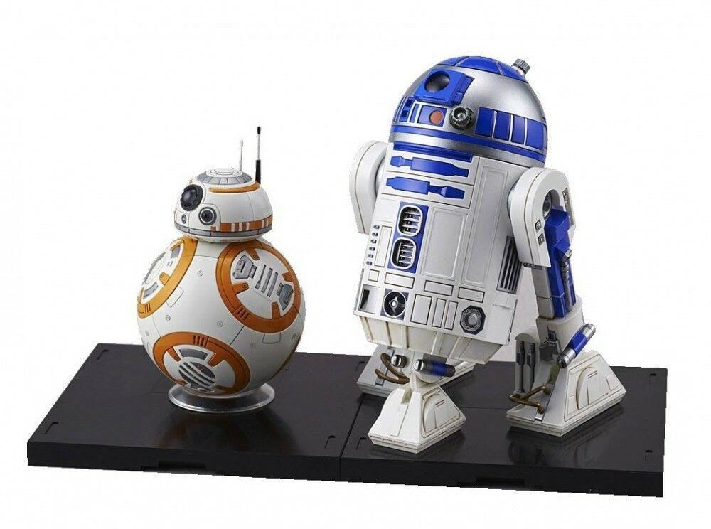 Bandai Star Wars BB-8 & R2-D2 1/12 Plastic Model Kit