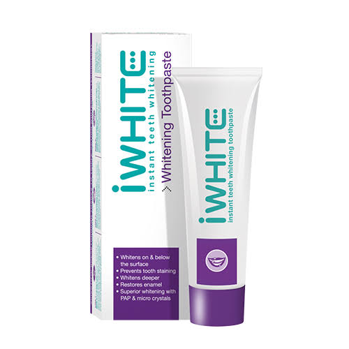 iWhite Instant Teeth Whitening Toothpaste 75 Millilitres