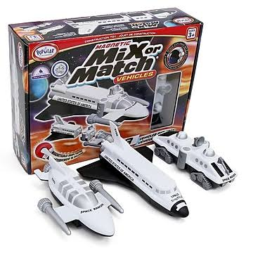 Popular Playthings Magnetic Mix or Match Space Vehicles