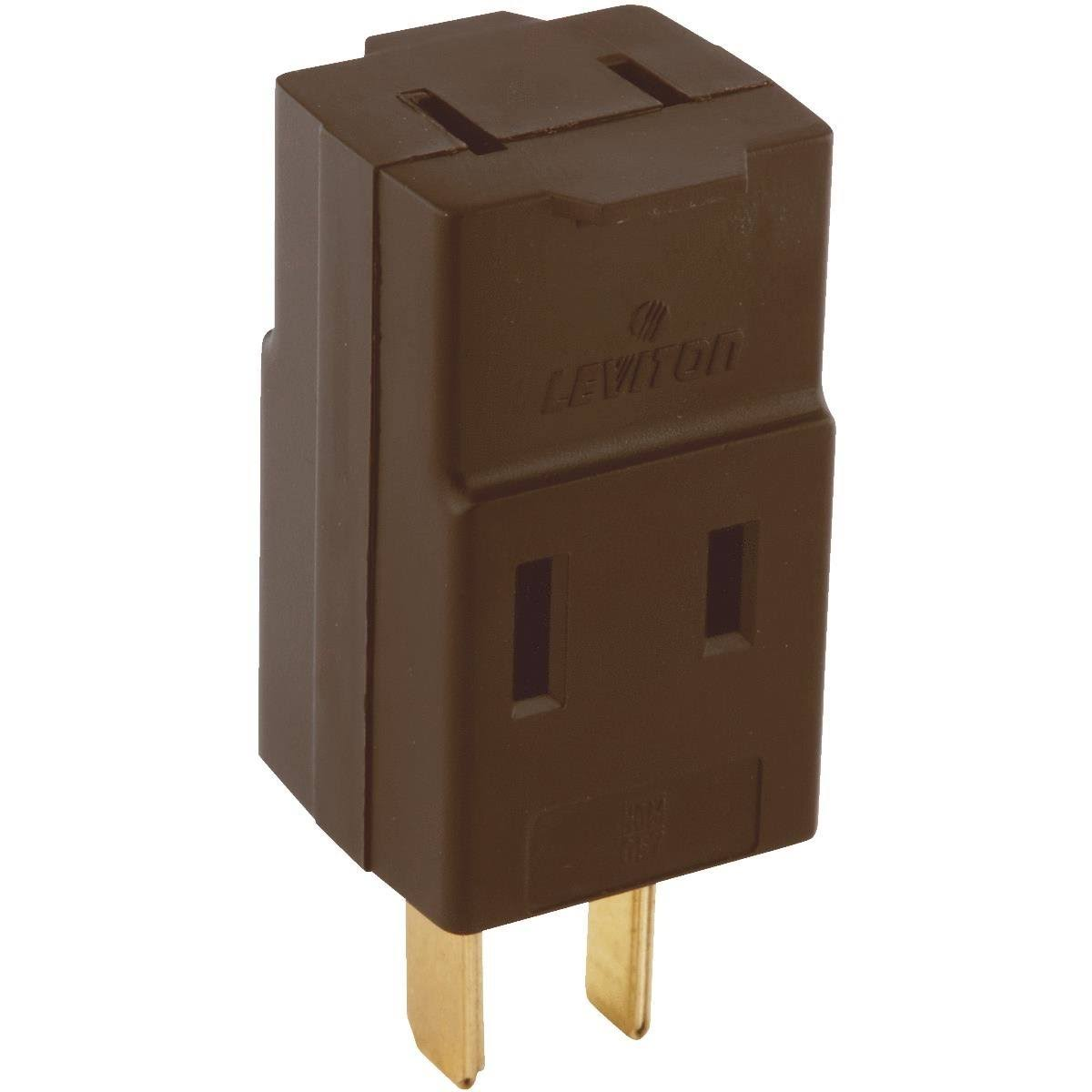 Leviton Triple Outlet Cube Tap 000-00531-000