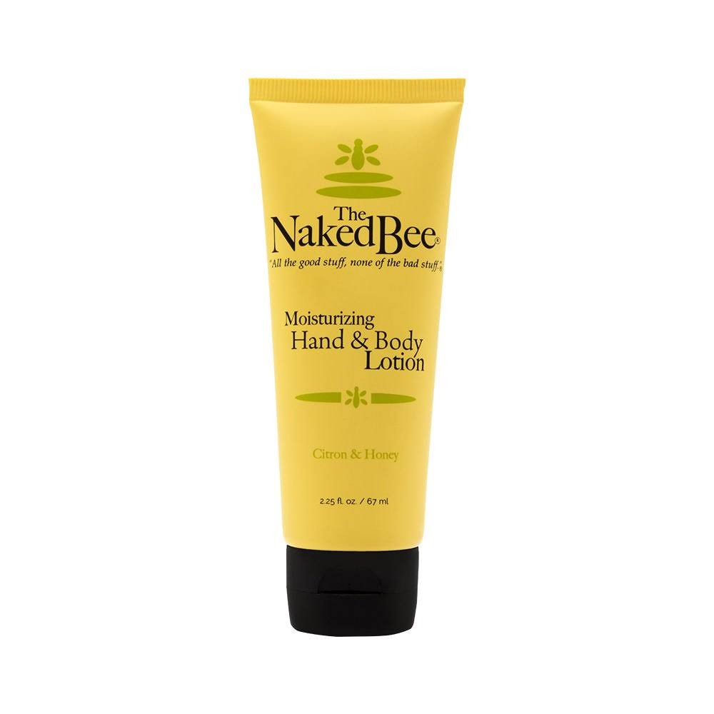 Naked Bee Citron & Honey Hand & Body Lotion, 2.25 oz.