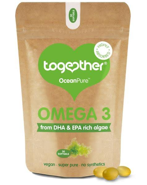 Together Health Omega 3 Suppleent - Natural Algae Dha, 30ct