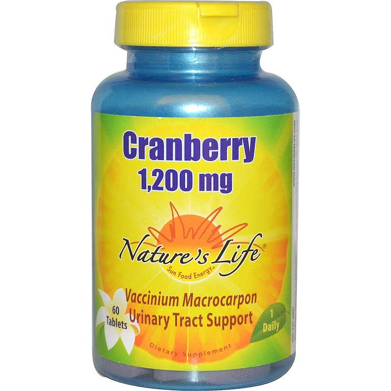 Nature's Life Cranberry Supplement - 60ct