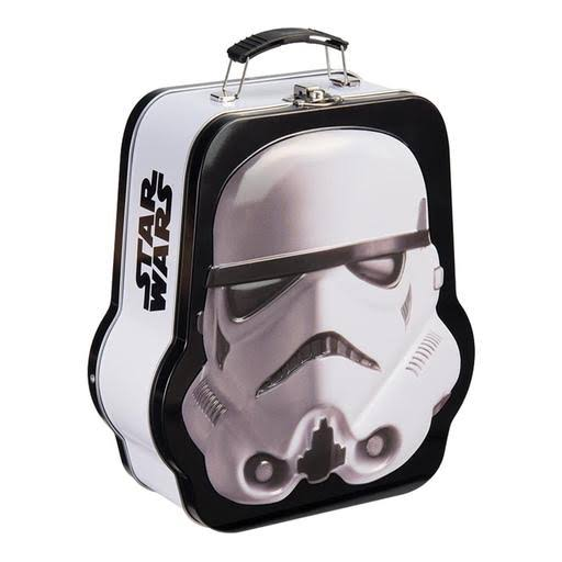 Vandor Star Wars Shaped Tin Tote - Multicolored, Storm Trooper