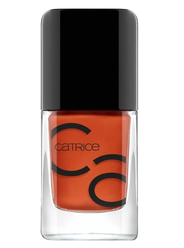 Catrice IcoNails Gel Lacquer - 83 Orange Is The New Black, 10.5ml