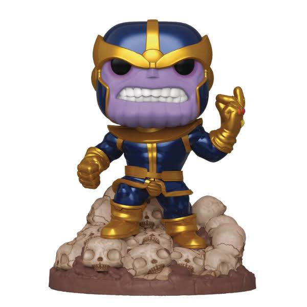 Funko Pop! Marvel 80th Anniversary Thanos Exclusive Vinyl Figure