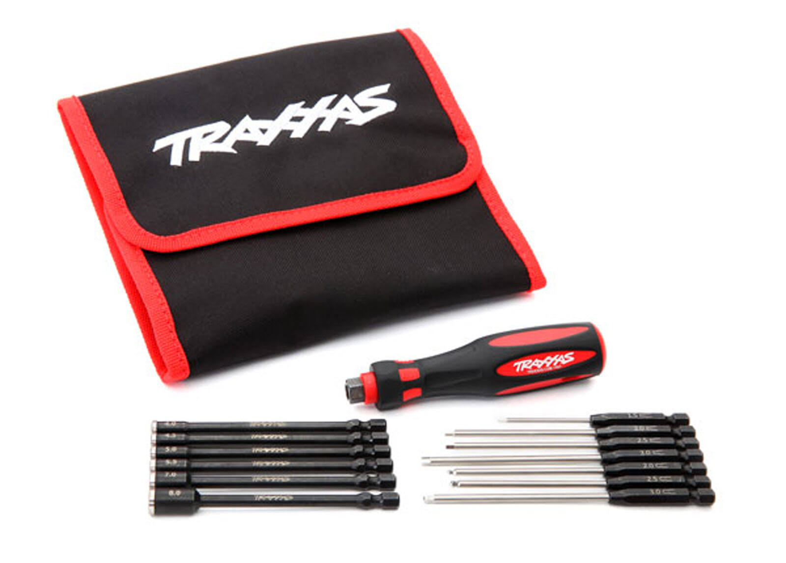 Traxxas 8710 Speed Bit Master Set, Hex and Nut Driver, 13-Piece