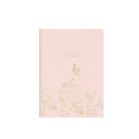 Fringe Studio Calendars Blush Floral Monthly Planner with High Quality Paper - Full Color Pages - 17 Months