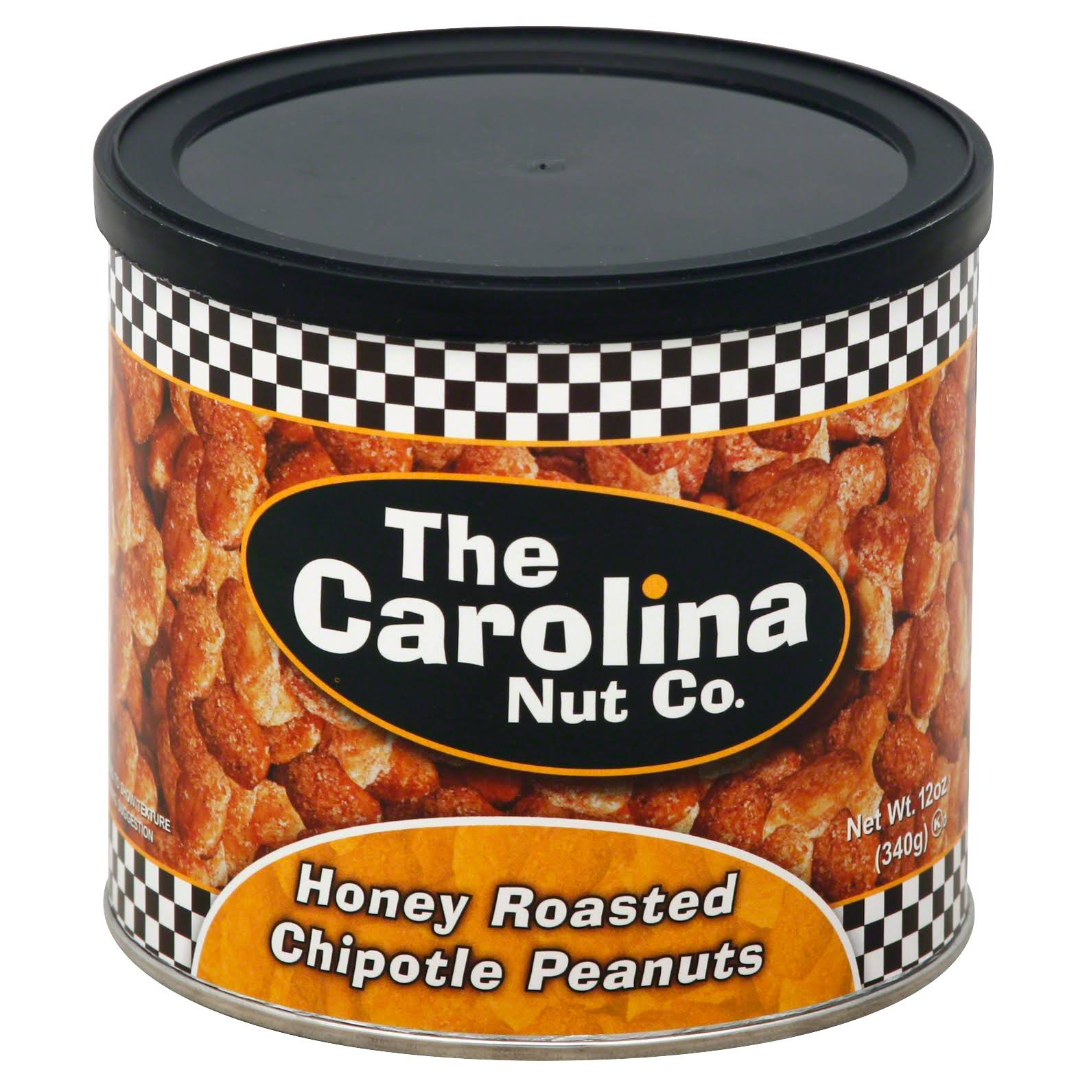 The Carolina Nut Co. Honey Roasted Chipotle Peanuts - 12oz