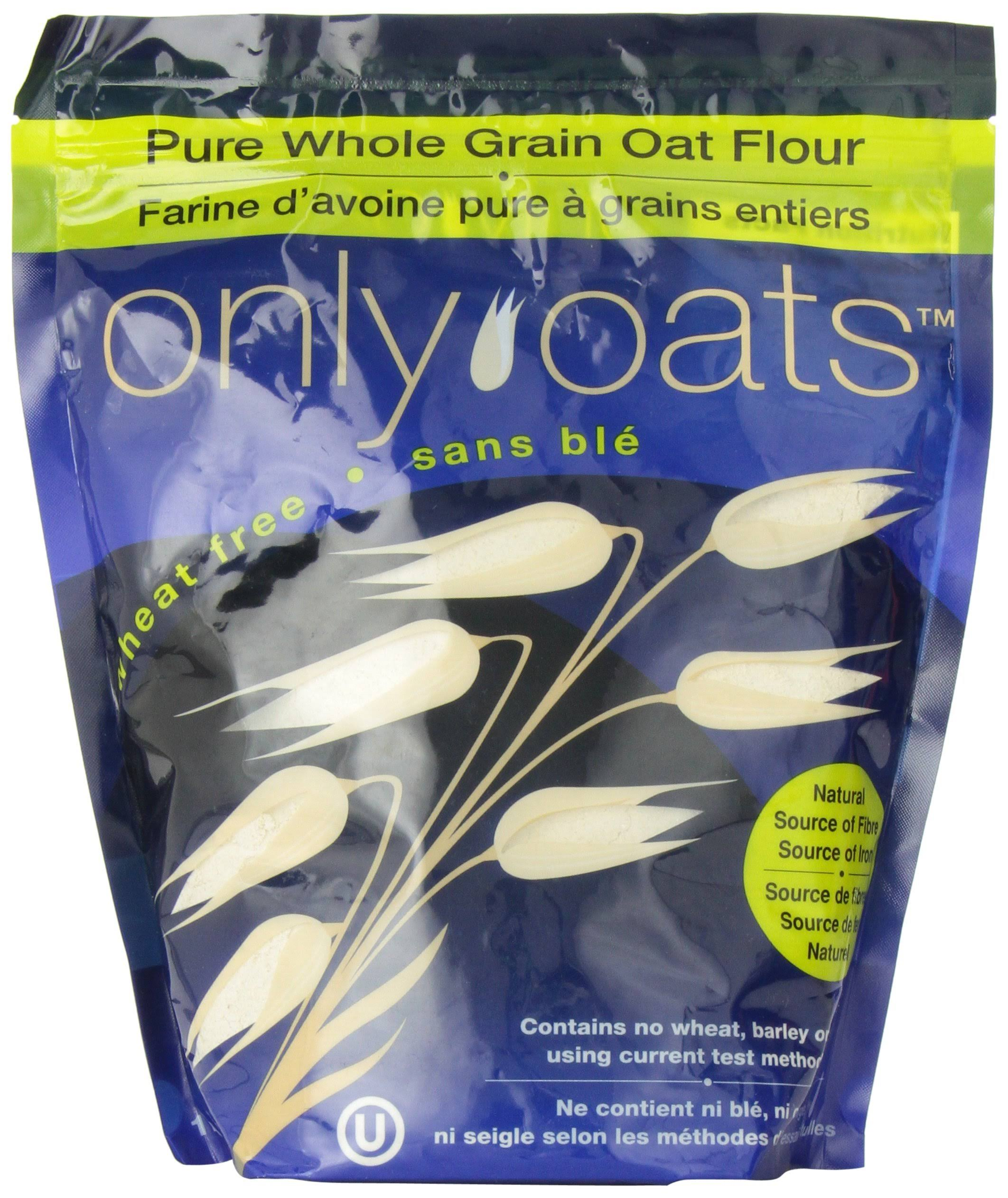Only Oats Pure Whole Grain Oat Flour - 1kg