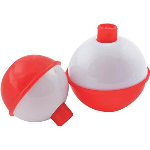 South Bend F6 Fishing Float - Red and White, 1 1/2""