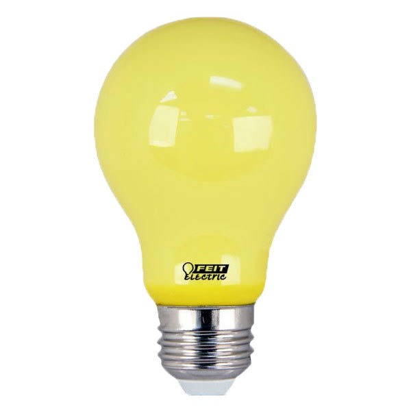 Feit Electric 60W Equivalent A19 Yellow Led Bug Light Bulb