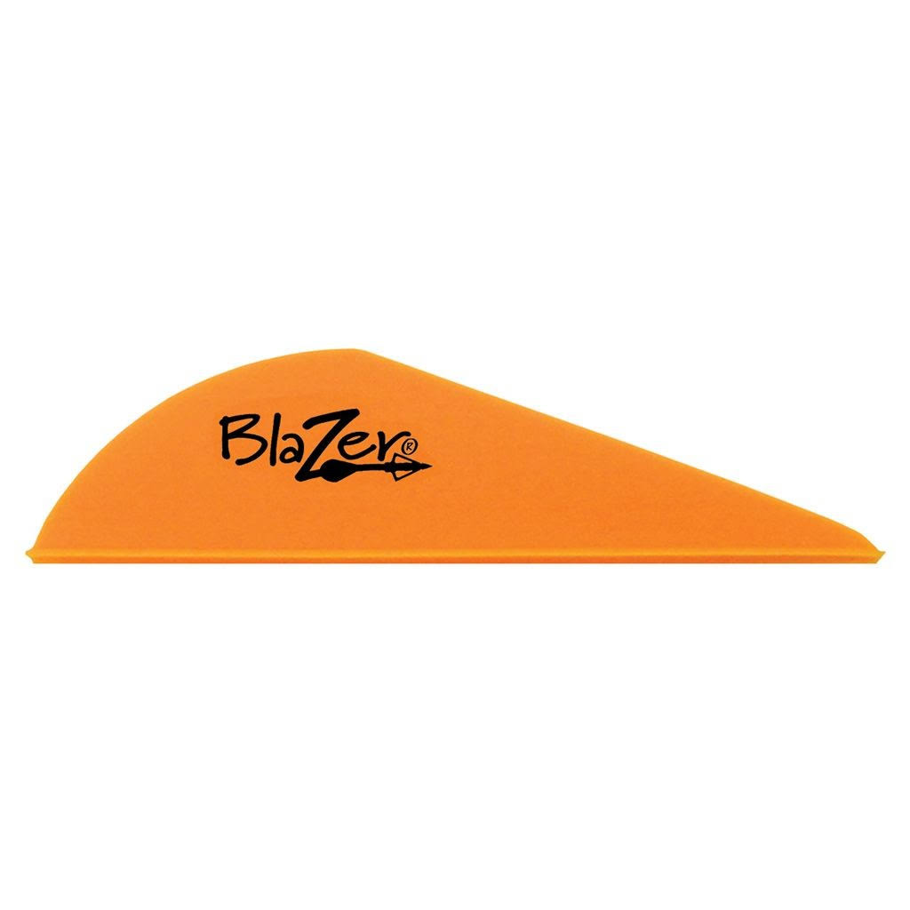"Bohning Blazer Vanes Arrowhead Fletches - Neon Orange, 2"", 36pk"