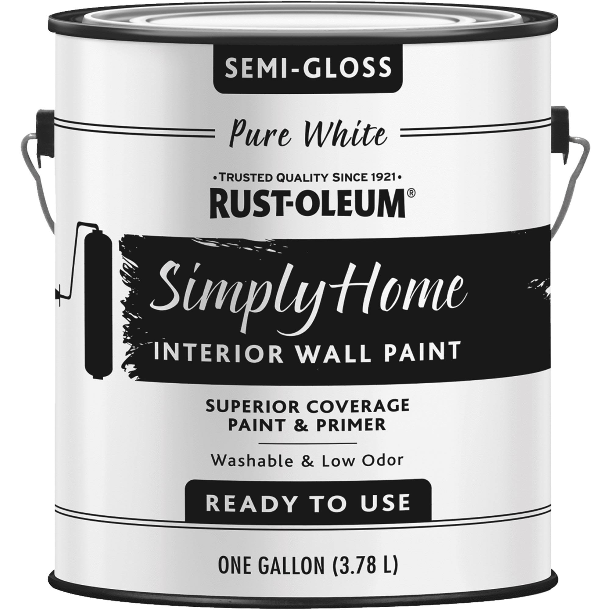 Rust-Oleum Simply Home Interior Wall Paint - Dark Taupe, 1gal