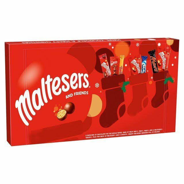 Maltesers and Friends Chocolate Large Christmas Selection Box - 213g