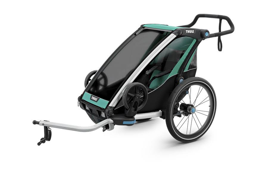 Thule Chariot Lite Multisport Child Bike Trailer - Bluegrass/Black