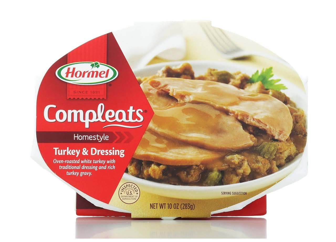 Hormel Compleats Turkey & Dressing - 10 oz