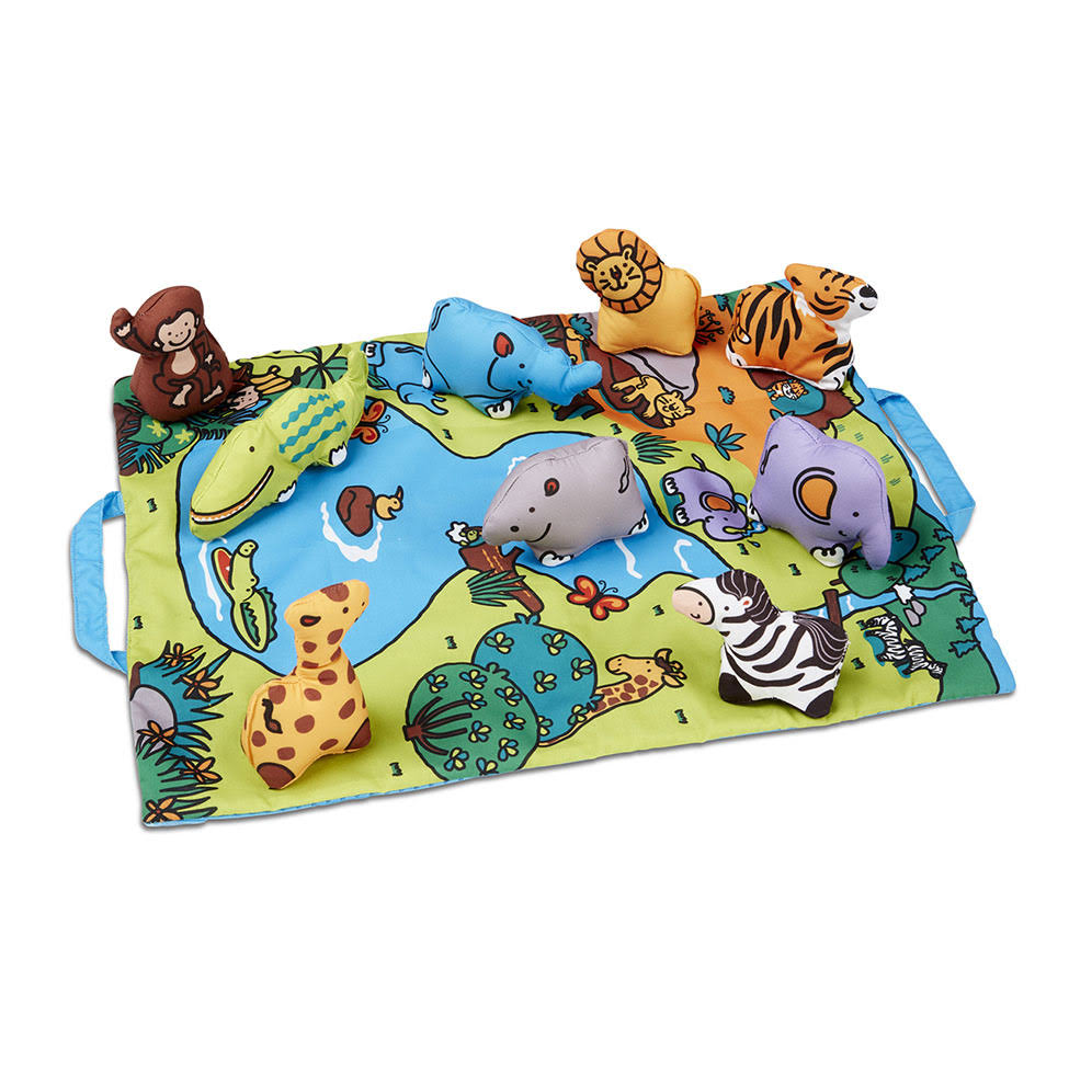 Melissa & Doug Safari Take-Along Play Mat