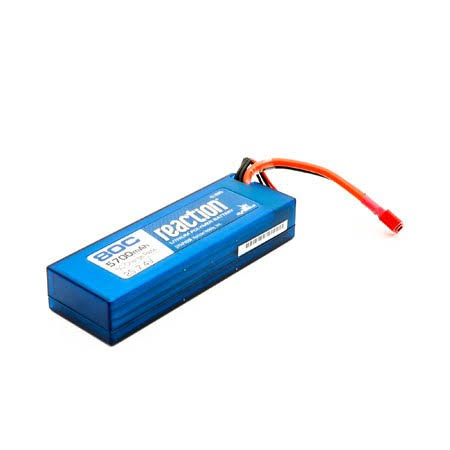 Dynamite Hardcase Lipo Battery - with Deans Connector, 7.4V, 5700mah