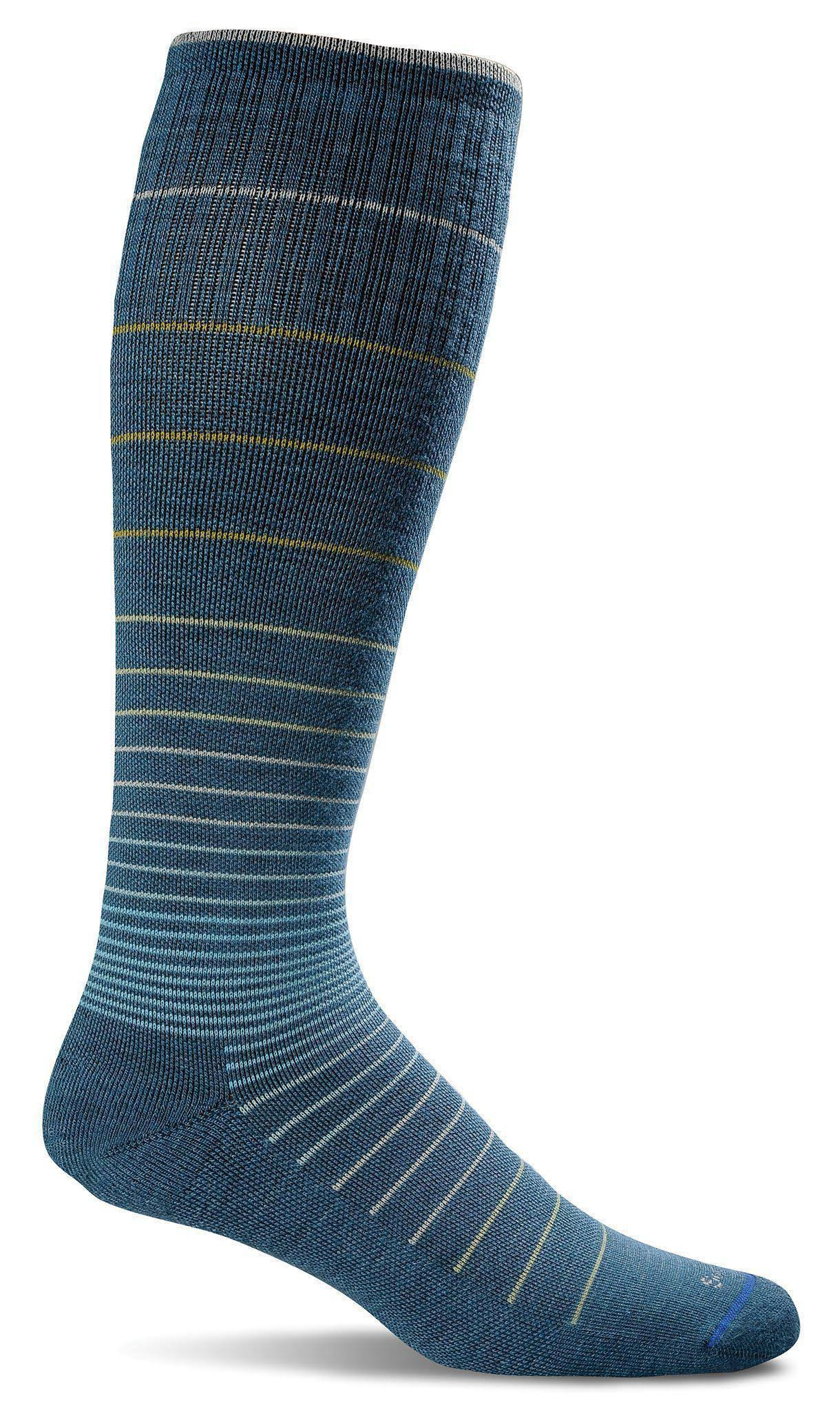 Sockwell Women's Circulator Compression Sock - Teal, Medium, Large