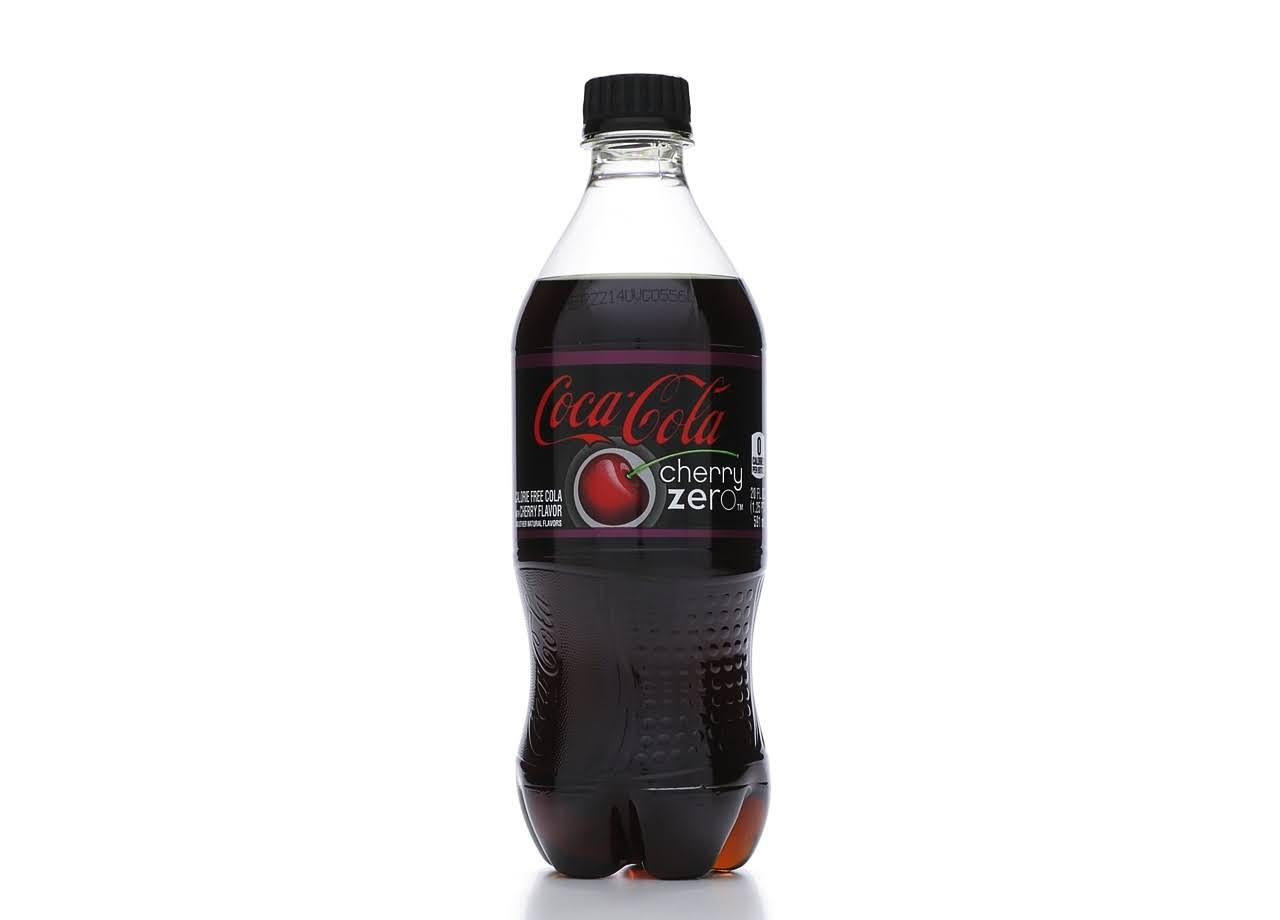 Coca-Cola Soda - Cherry Zero, 20oz