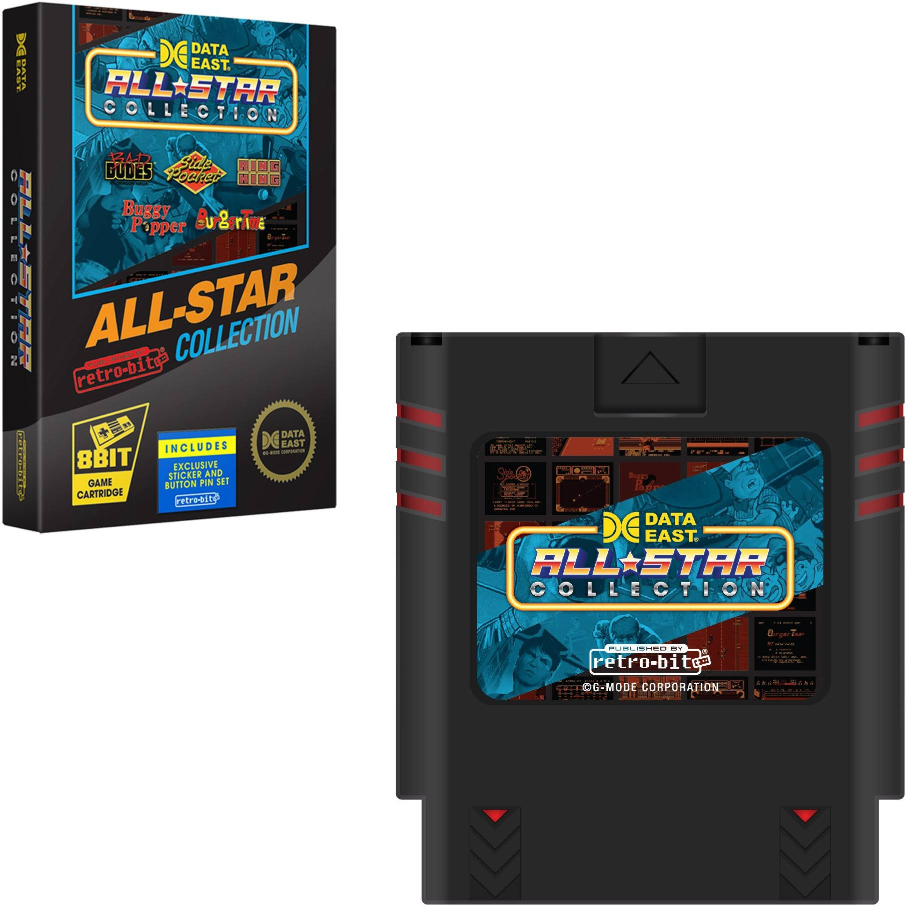 Retro Bit Data East All Star Collection Multicart - Nintendo SNES