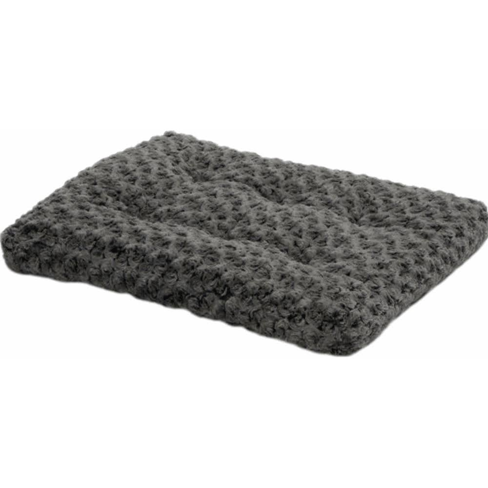 Midwest Quiet Time Pet Bed - Gray Ombre Swirl