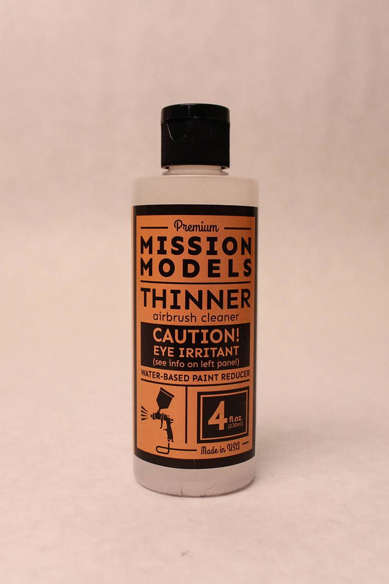 Mission Models MMA-003 - RC Paint 4 oz Bottle Thinner / Reducer