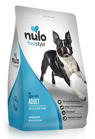 Nulo Dry Grain-free Adult Dog Food - Salmon, 4.5 Lb