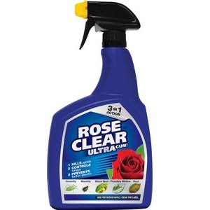 Rose Clear Ultra Gun Insecticide and Fungicide - 1L