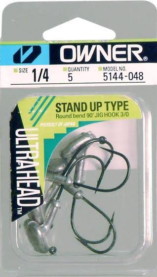 Owner 5144048 Ultrahead Standup Jig Hook - 1/4oz