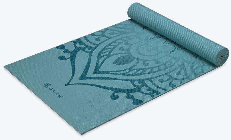 Gaiam Premium Print Yoga Mat - Niagara, 6mm
