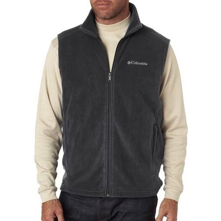 Columbia Men's Steens Mountain Full Zip Soft Fleece - Charcoal, XLarge